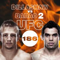 Buy your UFC 186 -  DILLASHAW vs BARAO 2 tickets