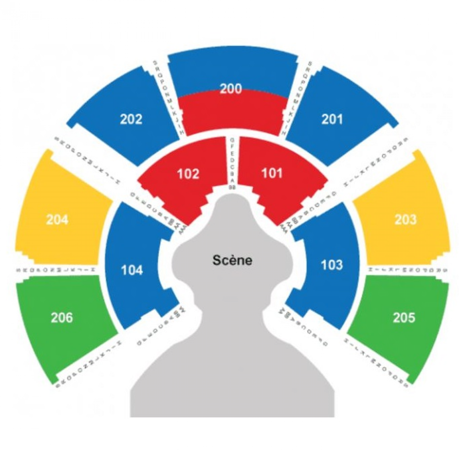 Third Row Seating >> Cirque Du Soleil - VOLTA Tickets - Cirque Du Soleil - VOLTA Montreal Tickets - Grand Chapiteau ...