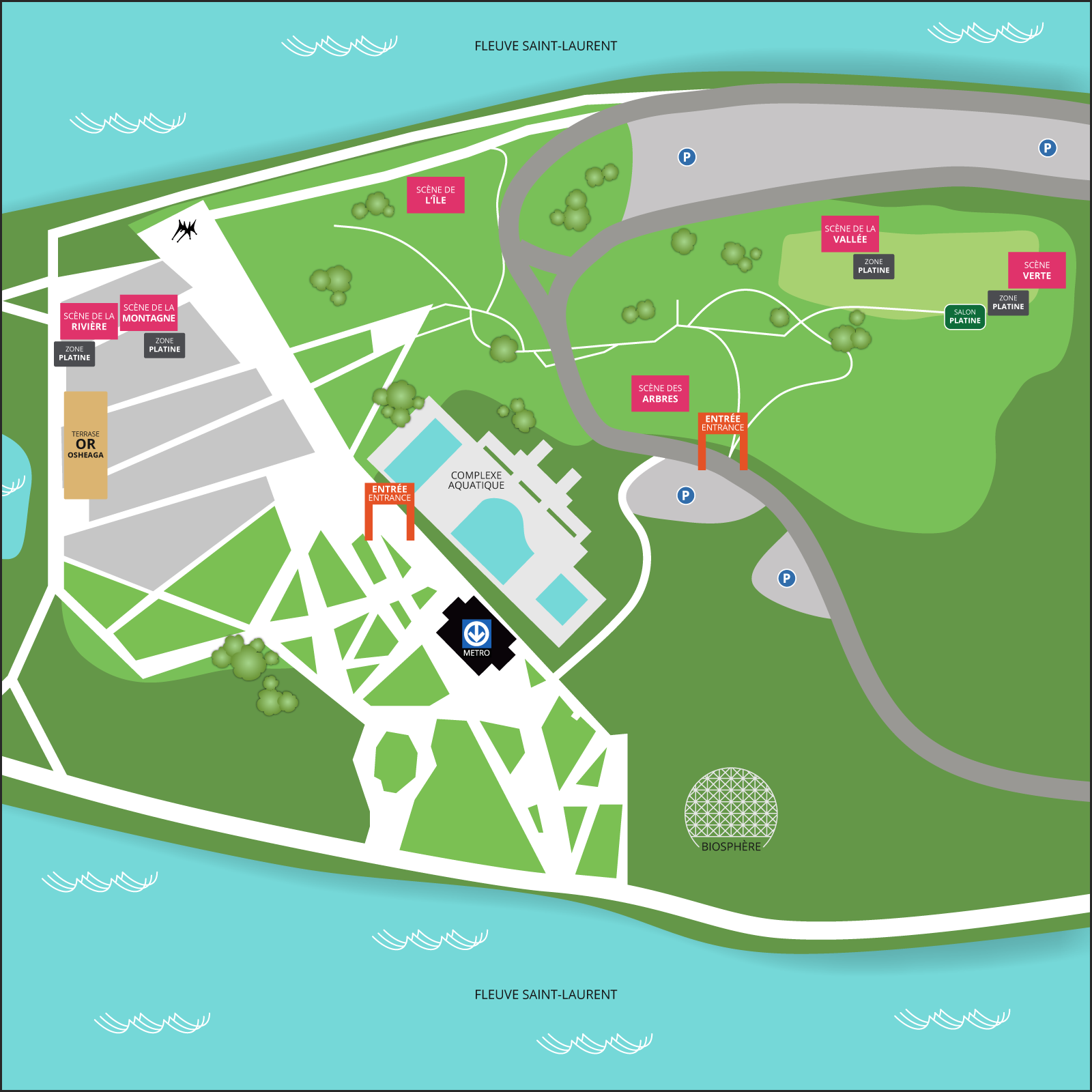 îleSoniq 2020 - 2 Day Pass - Deadmau5, Tiësto, DJ Snake