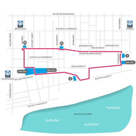 Montreal Urban Race Course